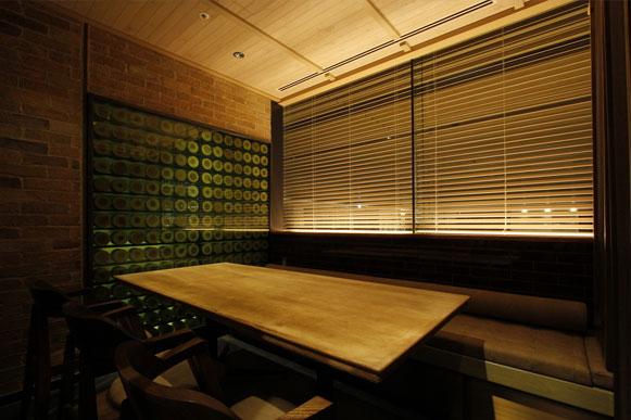パーテーションで仕切りが可能な個室スペース